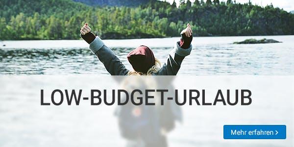 Low-Budget-Urlaub machen