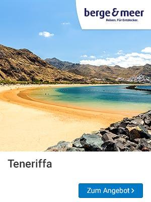 Frühbucher Urlaub 2019 auf Teneriffa.