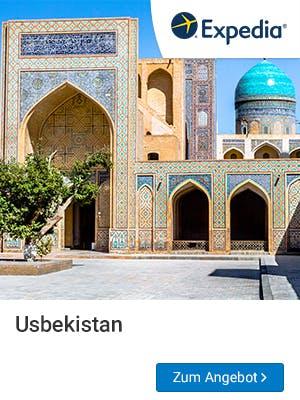 Usbekistan ist eines der absoluten Trendziele für Frühbucher Reisen 2019.