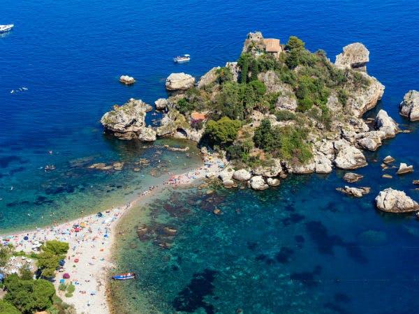 Traumhafter Urlaub an der Isola Bella, Taormina