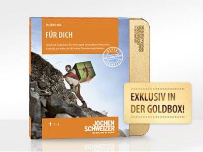 Erlebnis-Box von Jochen Schweizer verschenken