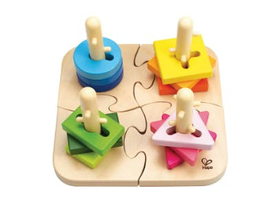 Kreatives Steckpuzzle für Kleinkinder ab 18 Monaten