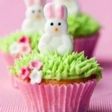 Ostercupcake als Ostergeschenk