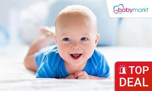 Ob Mid-Season-Sale, Sommerschlussverkauf oder WSV 2018: Bei babymarkt herrscht bis zu 70% Rabatt im Sale