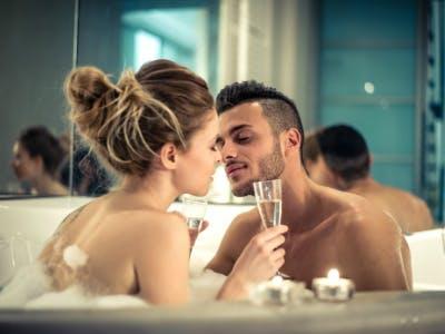 Wellness-Tag in der Badewanne