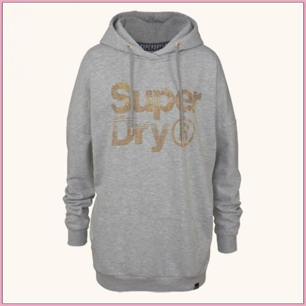 Cocooning-Kleidung für Drinnen: Superdry Kapuzensweatshirt