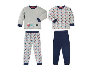 Kinderbutt Interlock-Jersey Schlafanzug