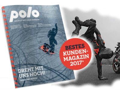 GRATIS Polo Motorrad Magazin