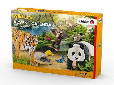 Schleich Adventskalenderbei Amazon mit wilden Tieren