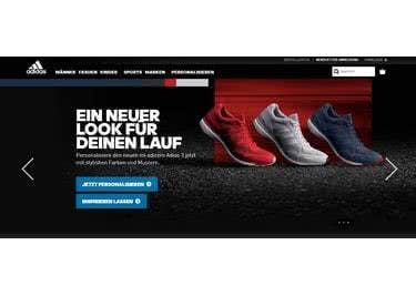 Im Onlineshop von adidas findet ihr immer die besten Angebote.