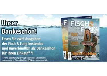"""Das Magazin """"Fisch & Fang"""" kommt kostenfrei zu dir nach Hause. Nutze deine Chance!"""