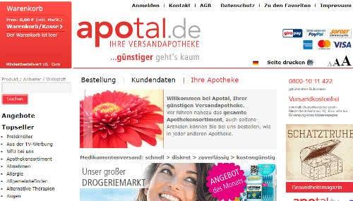 Apotal Startseite