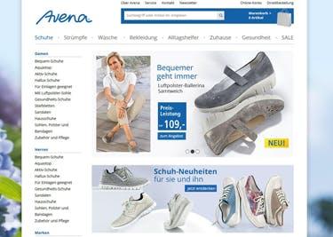 Mit einem Avena-Gutschein gibt es Mode, Schuhe und Co. zum Komfortpreis