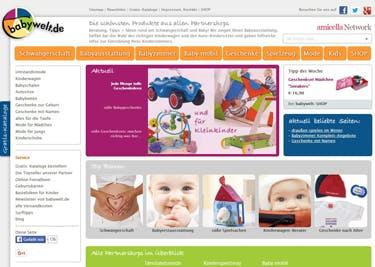 babywelt.de Startseite