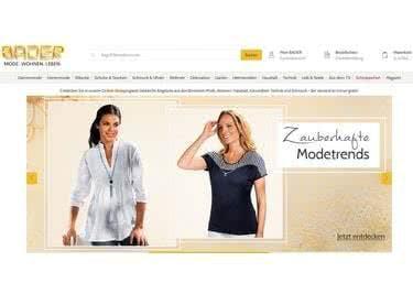 Im Onlineshop von Bader bekommt ihr mit eurem Gutschein Kleidung noch günstiger