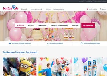 Immer eine tolle Geschenkidee: ausgefallene Luftballons von Ballon24.de