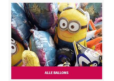Spare bei der Onlinebestellung mit einem Ballon24-Gutschein