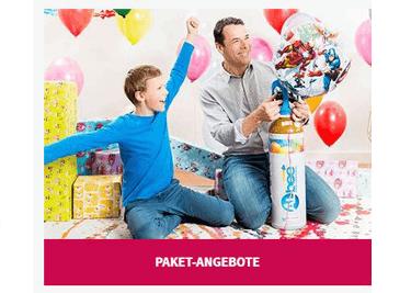 Die Familienkasse wird geschont, indem du bei der Bestellung im Onlineshop einen Ballon-24 Coupon einlöst