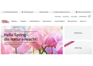 Bestelle frische Blumen online und spare mit einem Blume2000-Gutschein