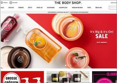 The Body Shop Startseite