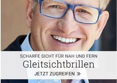 Business-Manager mit Gleitsichtbrille