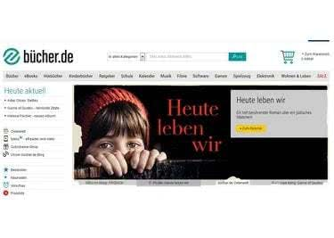 Buecher.de Startseite