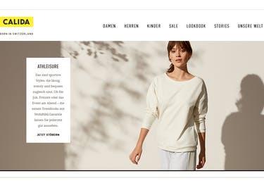Bestelle neue, saubere Unterwäsche und kuschelige Pyjamas bei Calida