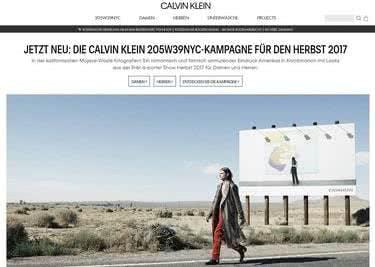 Calvin-Klein-Trends aus dem Onlineshop bestellen