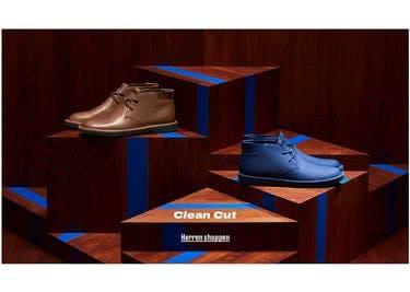 Auch die Herren der Schöpfung werden bei Camper fündig und shoppen Schuhe sowie Accessoires