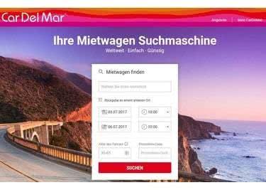 Deine persönliche Suchmaschine für Mietwagen: CarDelMar