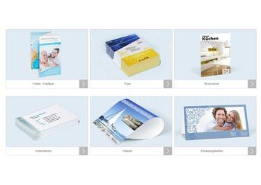 Broschüren, Bürobedarf, Kalender und Werbemittel werden dank eines CEWE-PRINT-Gutscheins kostengünstig
