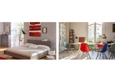 Wie wäre es mit einem Sofa oder einem Bett? Bei Connox wirst du fündig!
