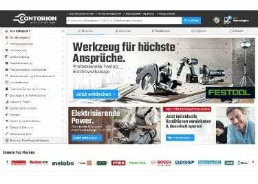 Der Onlineshop von Contorion bietet dir Werkzeug zum kleinen Preis