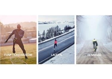 Ob Sommer oder Winter - Bei Craft Sports findest du die optimale Sportbekleidung und bist bestens gerüstet!