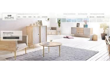 Shoppe deine Designermöbel mit einem DeLife-Gutschein zum attraktiven Sparvorteil