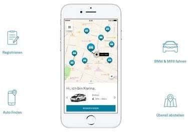 Kennst du schon die App von DriveNow?