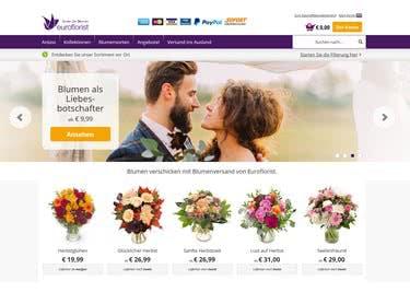 Nutze einen EuroFlorist-Gutschein, um schöne Blüten günstiger zu versenden