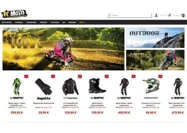 Die FC-Moto Startseite