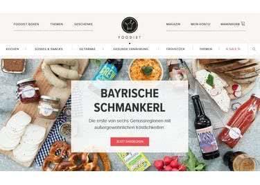 Die Foodist-Startseite