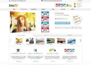 Die Website von Fotofox