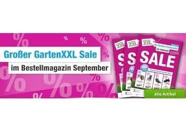 Finde aktuelle Schnäppchen im Sale von GartenXXL und spare