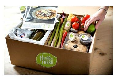 Frisch geliefertes Essen wird dank eines HelloFresh-Gutscheins richtig günstig