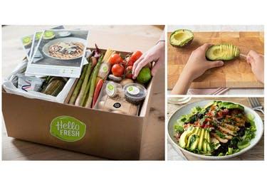 Frisches Obst und Gemüse wird dank eines HelloFresh-Gutscheins günstig zu dir nach Hause geliefert