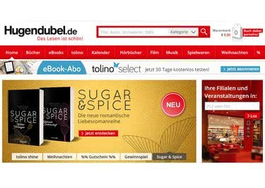 Shoppst du deine Bücher, Filme und CDs im Onlineshop von Hugendubel, kannst du mit einem Gutschein sparen