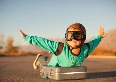 Ob Geschäftsreise oder Urlaub: Mit einem Koffer hast du alle Siebensachen zusammen