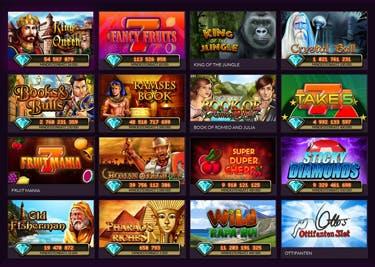 Ein großes Spieleportfolio gibt es bei Jackpot.de