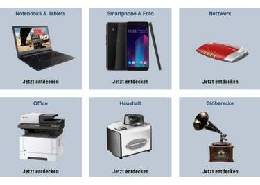 Sieh dich im Onlineshop um und entdecke viele tolle Elektronik-Produkte