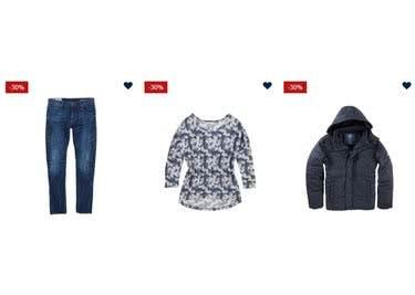 Schau' dich im Sale-Bereich um, denn dort sind alle Modestücke reduziert
