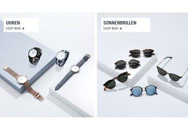 Uhren und Sonnenbrillen werden mit einem Kapten and Son Gutschein noch günstiger