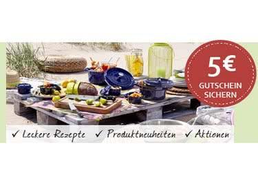 Abonniere den kostenlosen Newsletter und erhalte einen Willkommens-Gutschein von Kochform